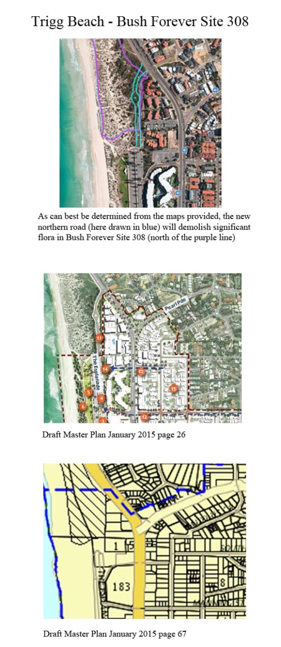 Bush Forever Site 308 Estimated Impact
