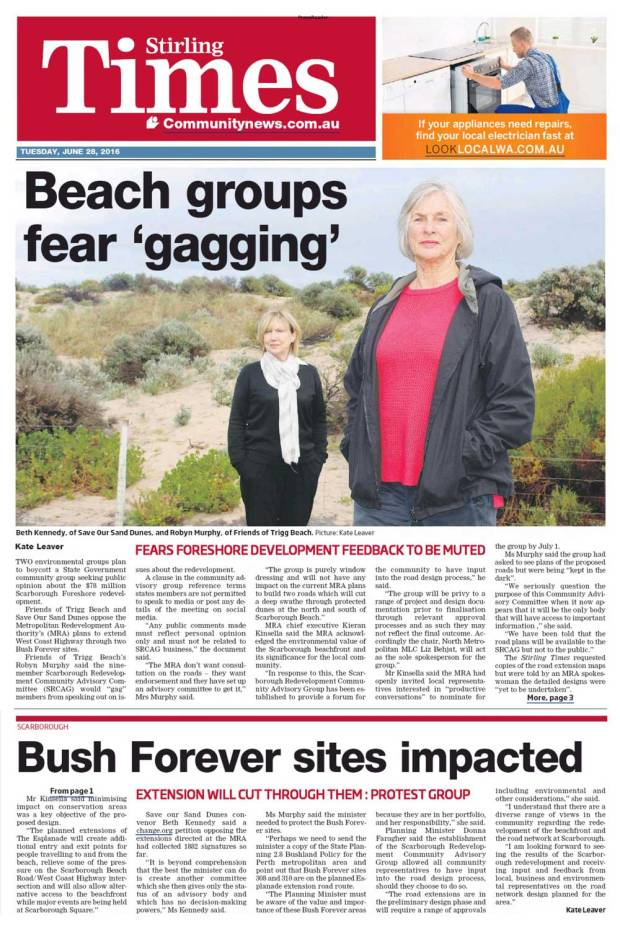 Stirling-Times-1606281-p1&3-Beach-Groups-Fear-Gagging